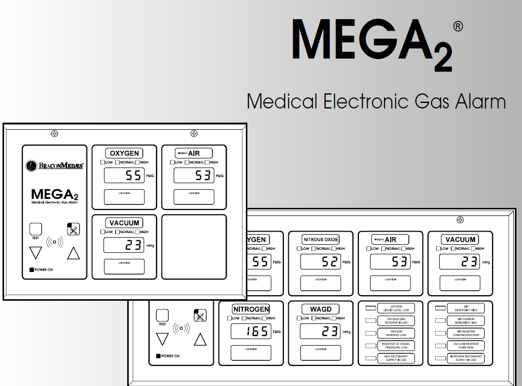 Beaconmedaes Medical Gas Outlet Parts