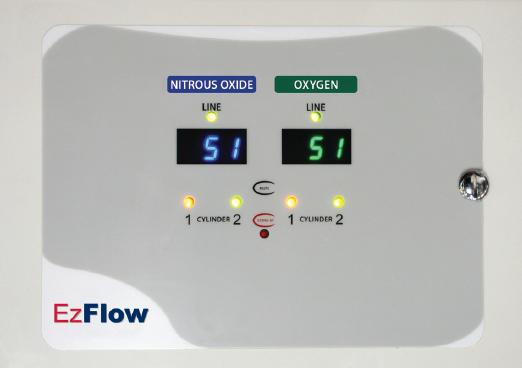 Nitrous Oxide Oxygen Dental Manifold