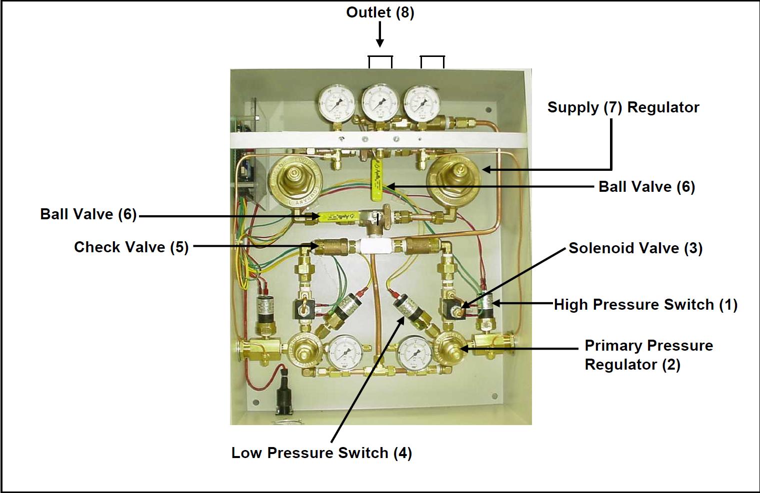 Allied Chemetron Manifold Parts